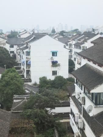 Nanlin Hotel Suzhou : 酒店窗外的古城景色02