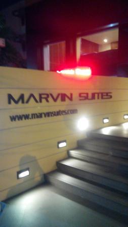Marvin Suites : 酒店入口