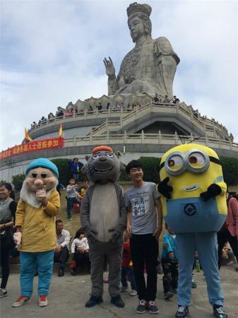 Dongwan Guanyin Mountain: 最佳老公灰太狼