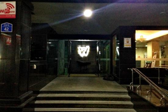Hotel W Shinjeju: 酒店正门