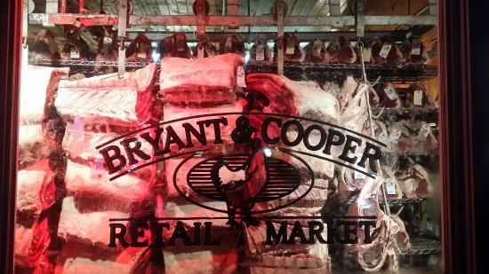 Bryant & Cooper Steak House: perfect steak
