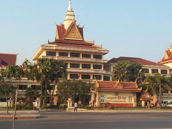 酒店外观 - Picture of City Angkor Hotel, Siem Reap - TripAdvisor