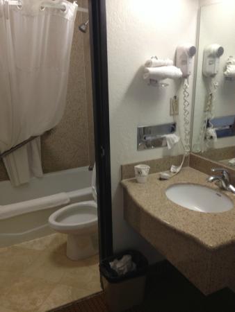 Quality Inn Banning I-10: 卫生间