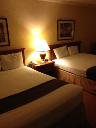 Camarillo Executive Inn & Suites: 双床