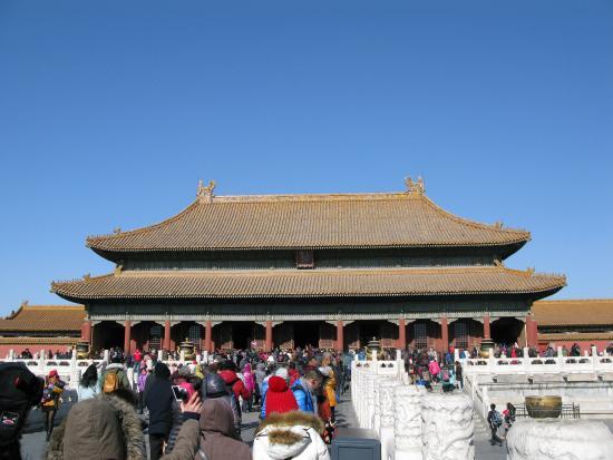 Palace of Heavenly Purity : 乾清宫