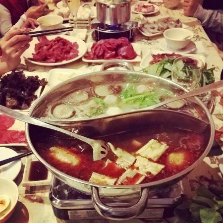 La fondue chinoise photo de tokyo restaurant - Fondue vietnamienne cuisine asiatique ...