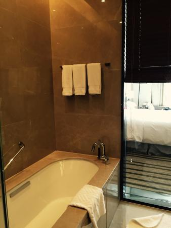 DoubleTree by Hilton Hotel Hangzhou East : 浴室
