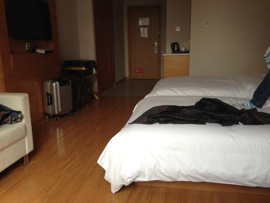 Quanji Hotel Changsha Helong Stadium: 房间