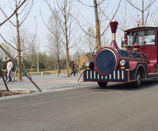 BeiJing YuanBoYuan GuoJi ZhanYuan: 园内小火车