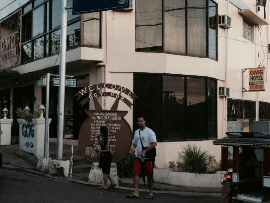 GMG Hotel: 酒店大门