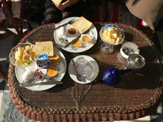 Jasmine Hotel & Restaurant: 精美的早餐