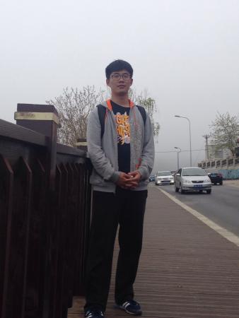 Dalian People Square: 广场边的栅栏