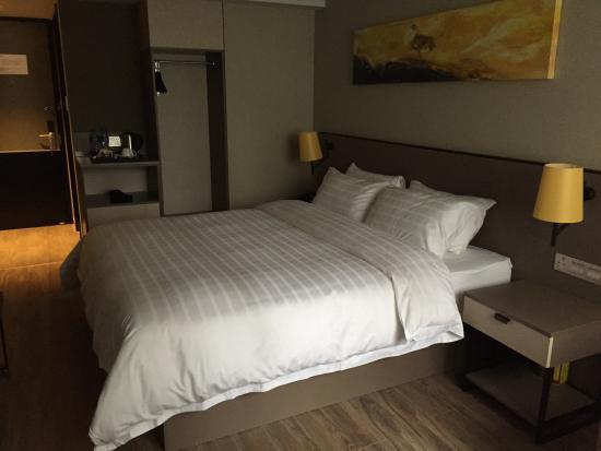 Home Inn (Shanghai Xu Jia Hui): 房间内