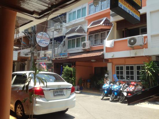 Sunshine Guest House Hua Hin: 外观