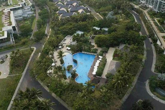 Serenity Coast Resort Sanya : swimming pool overlook