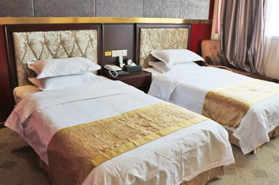 Wanyuan, Chine: 酒店客房