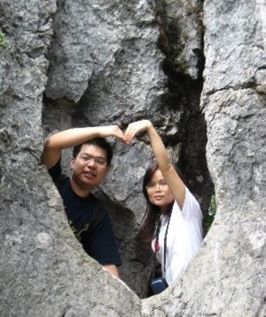 Huaying Mountain Tourism Area: 华蓥山石林