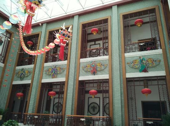 Kite Museum : 大堂的龙头蜈蚣