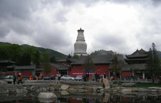 Tayuan Temple: 塔院寺之白塔