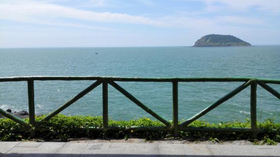 Zhangpu County, Kina: 海边