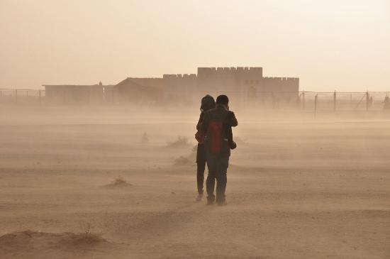 Heicheng Ruins : 黑城的沙尘暴