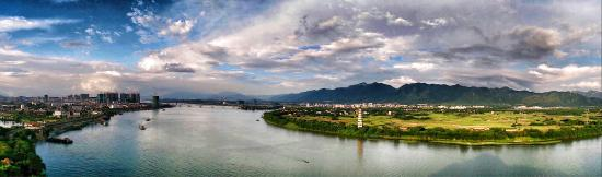 Yingde, Kina: 南山远眺英城