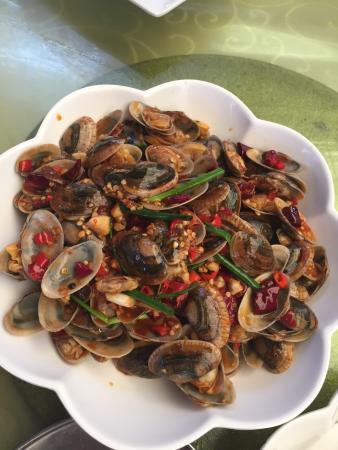 Spring Garden Seafood Plaza: 川味儿炒法
