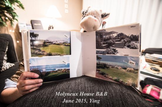 "Molyneux House Bed & Breakfast: Photos Book中""房前景色的一年四季"""