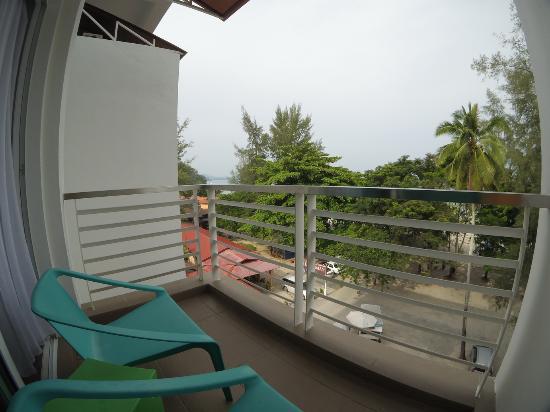 Cenang Plaza Beach Hotel 海景房阳台