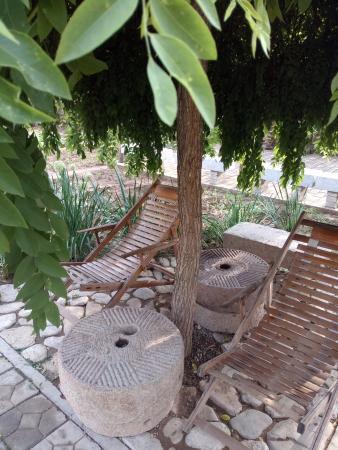 Laiyuan County, Chine : 躺椅上很舒服哦
