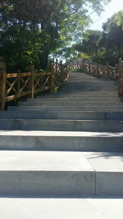 Longwan Beach: 蓝天白云
