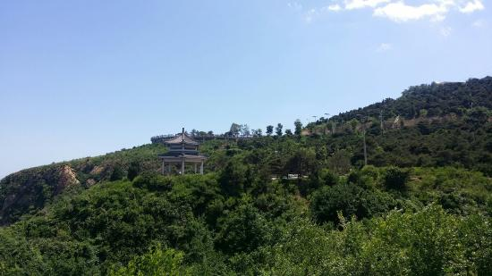 Huludao, China: 蓝天白云