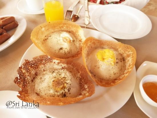 斯里兰卡蛋饼