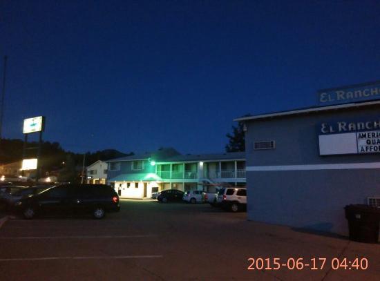 El Rancho Motel : 安静