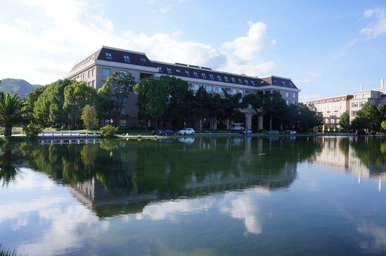 Mile Hot Spring Hotel: 酒店C楼的外观