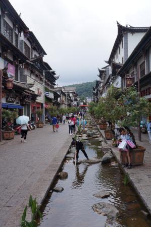 Tonghai County, Kina: 通海商业步行街