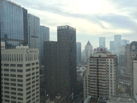 Celebrity City Hotel: 客房外风景