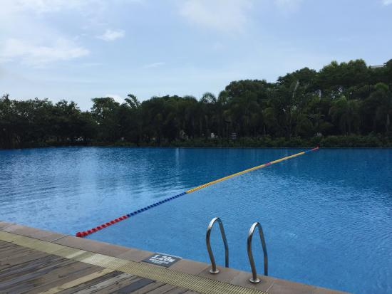 International Seaside Hotel: 室外泳池