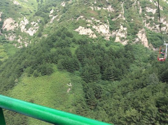 Xinzhou, China: 缆车