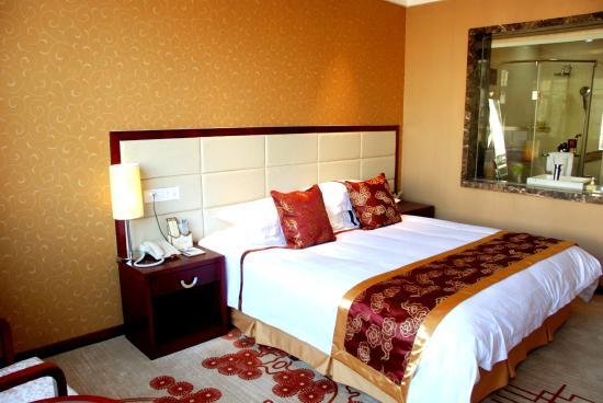 Guangyuan Jianmenguan Hotel : 客房内