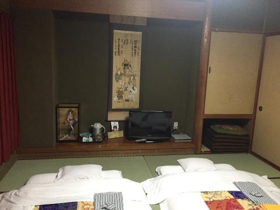 Hotel City Inn Toyama : 前台在这里,不过让我们住对面楼里