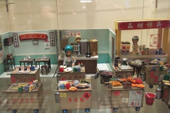 Wuu's Restaurant: 店内摆设