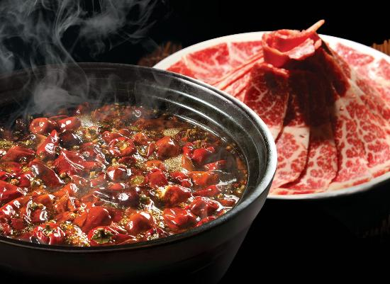 This chilli hot pot photo at San Xi Lou is courtesy of TripAdvisor (non spicy available also!)