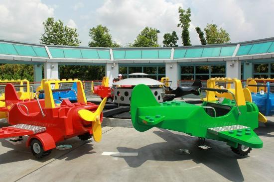 Legoland Malaysia: 乐高小飞机