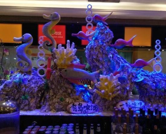 Blue Horizon Hotel (Qingdao Huangdao): 用餐环境也非常好