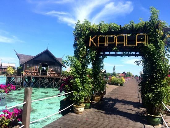Sipadan Kapalai Dive Resort 度假村的外观