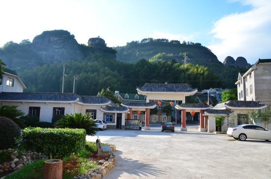 Xinning County, Çin: 酒店内看庭院深深