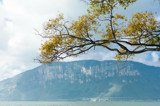 Haigeng Park: 海埂看西山