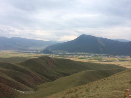 Qinghai, Cina: 卓尔山远眺