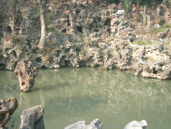 Boxian Park : 假山